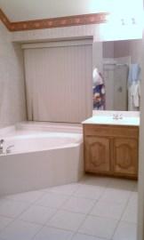 I love my sparkling bathroom.