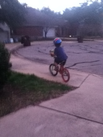 Taking off the training wheels.