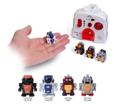 "The tiny robots are the ""tootie doodies""."