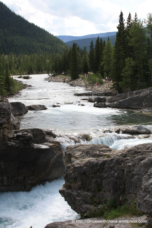 Elbow Falls in Kananaskis County, Alberta