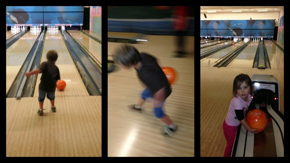 Bowling was a huge hit.