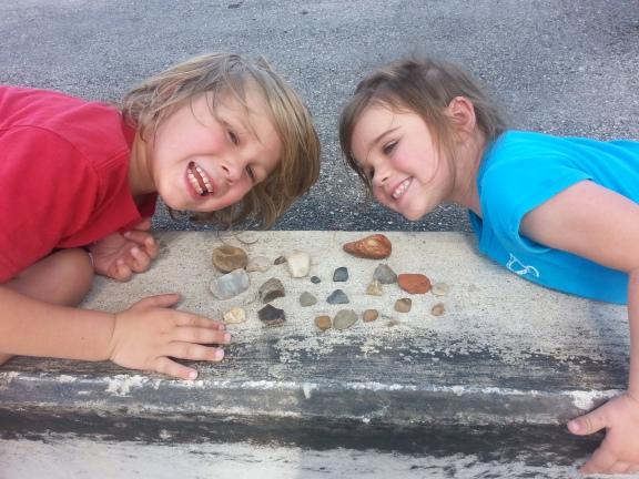 A fun rock hunting excursion
